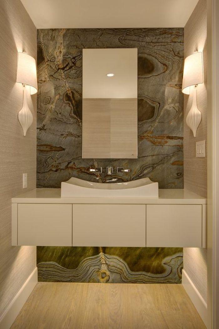 815 best images about salle de bain on pinterest coins for Miroir salle de bain lumineux sur mesure