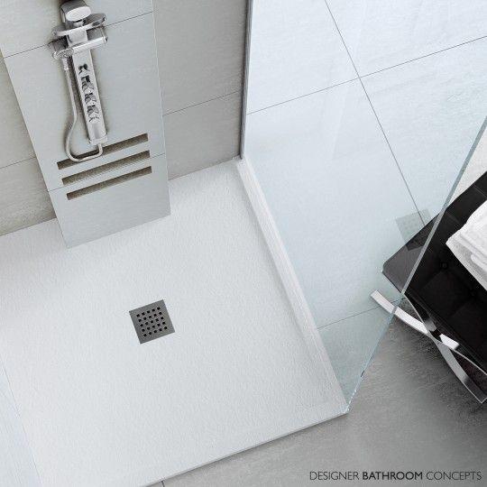Fiora Silex Designer Made To Measure Framed Shower Trays 22