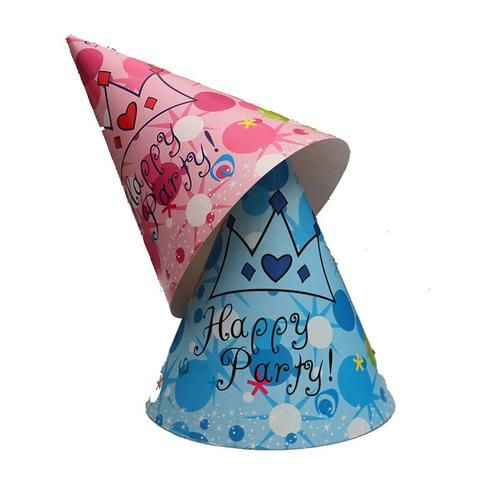 Pink/Blue Party Birthday Hat @trendingtoystore.com