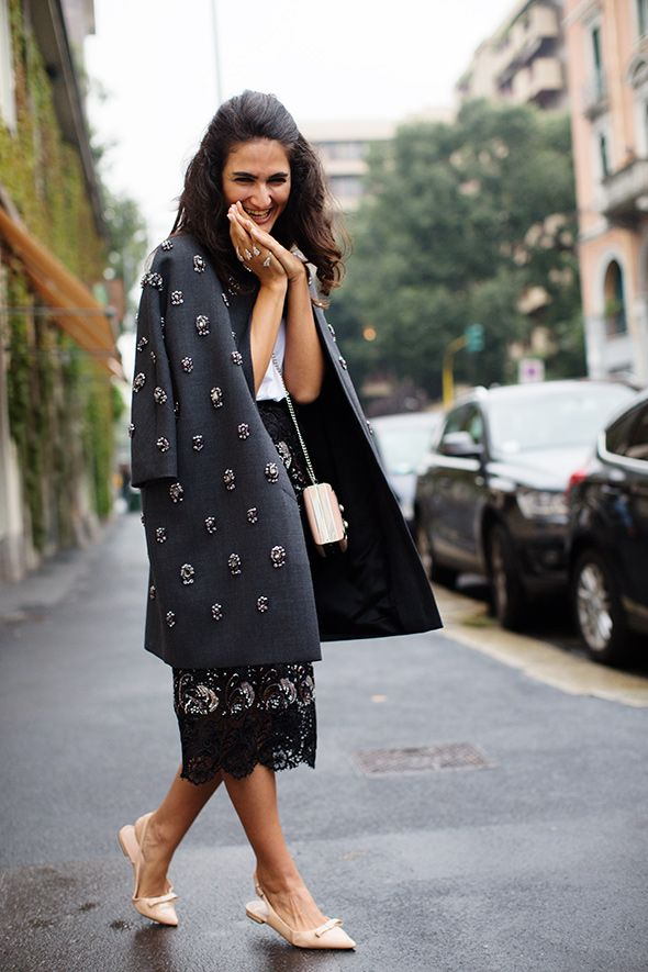 Embellished Coat