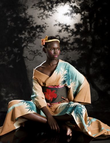 Just bought a kimono and looking for inspiration on how to wear in in a less formal manner #kimono