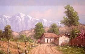 Resultado de imagen para pinturas chilenas paisajes