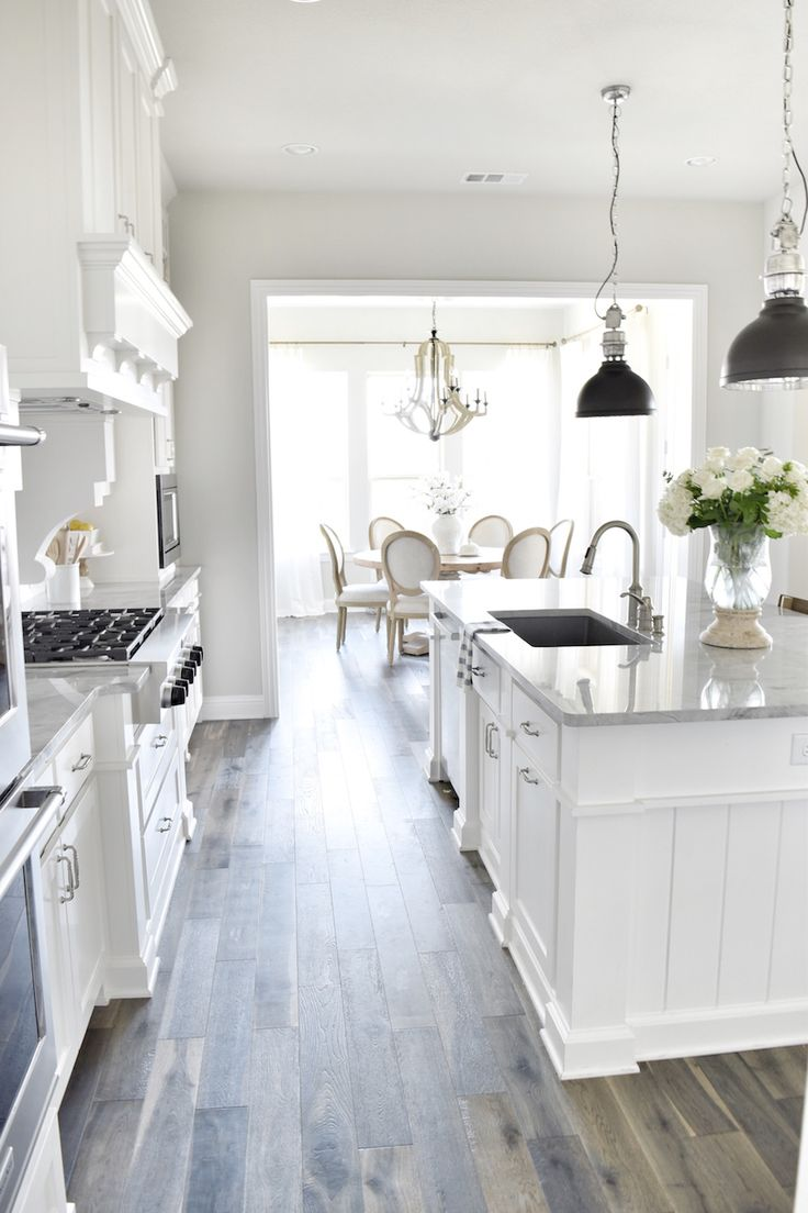 White Kitchen Grey Floor best 25+ dark flooring ideas on pinterest | dark wood floors, dark