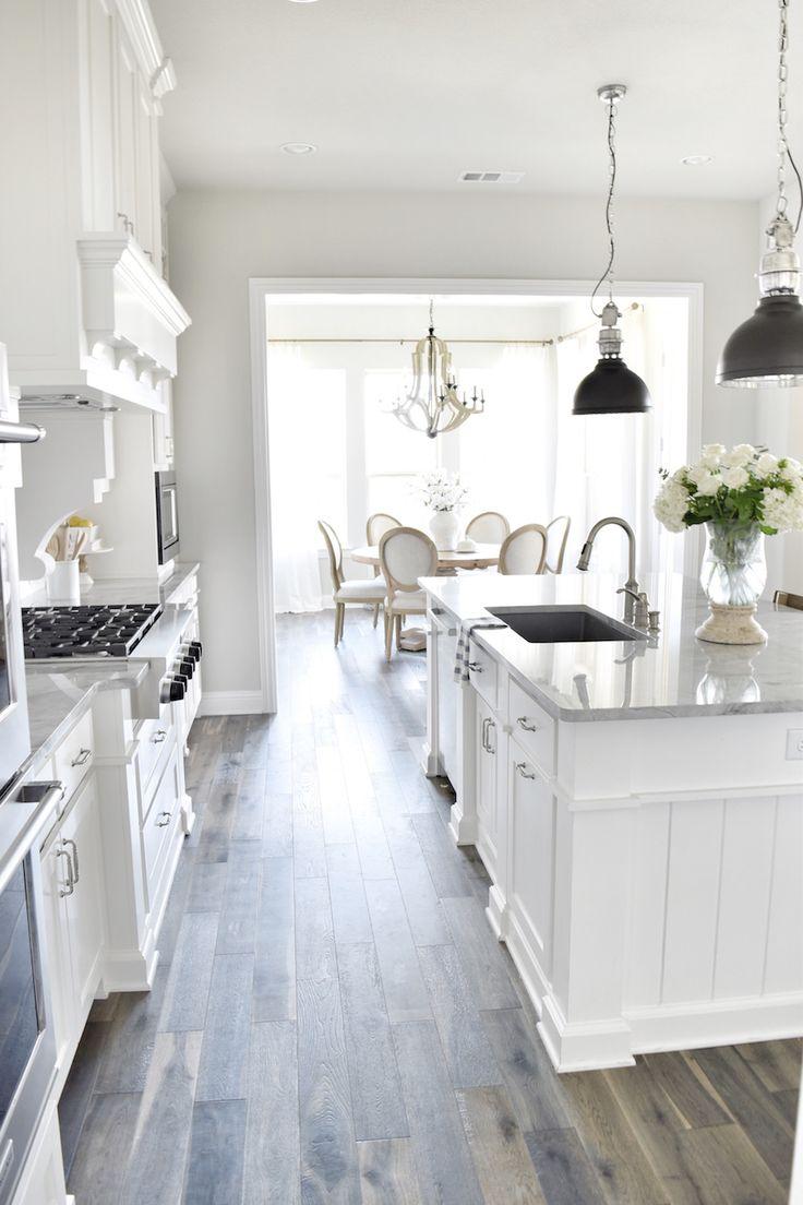 Gray Kitchen Cabinets And Walls Grey Walls. Light Grey ...