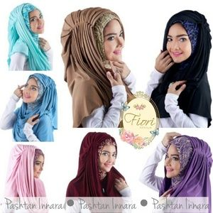 grosir Hijab/Jilbab Pashmina Instant Innara Online