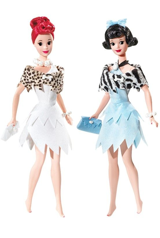 The Flintstones Barbie Doll Giftset (2008)