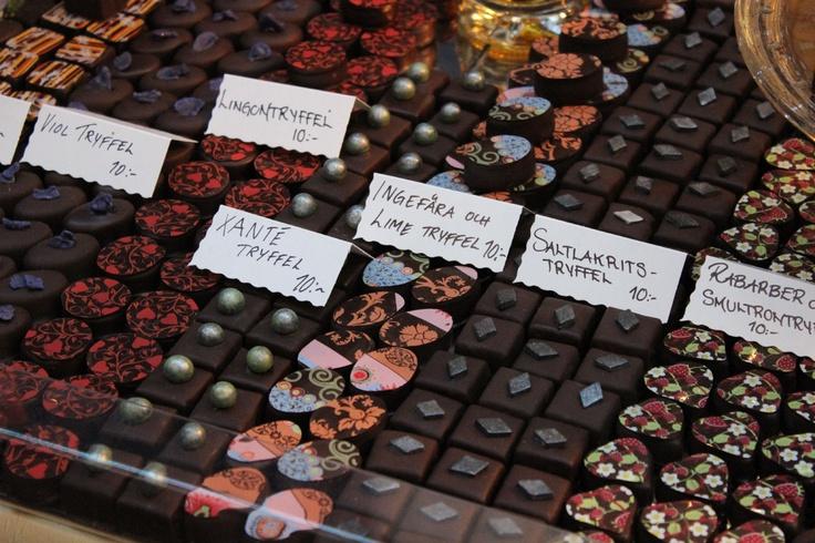 Chokladkonst - från Passion För Mat 2012