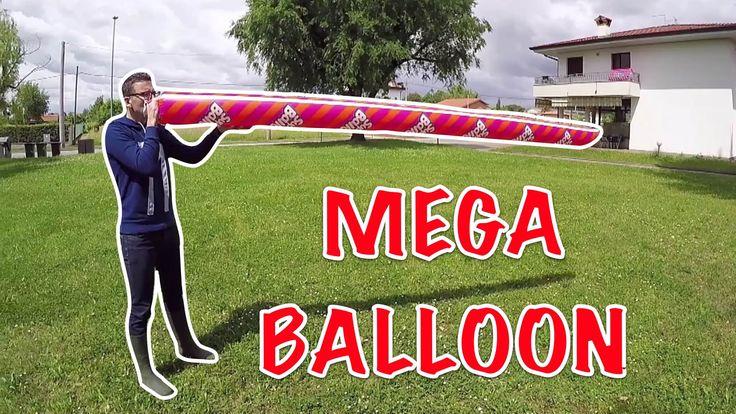MEGA BALLOON: provo il palloncino più grande del mondo!