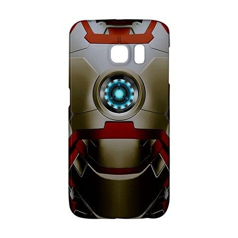 Iron Man Armor Mark XLVII Suit Samsung Galaxy S6 EDGE or S3/S4/S5/S6/S7/S7 EDGE/NOTE 2/NOTE 3/NOTE 4/NOTE 5 Case Wrap Around