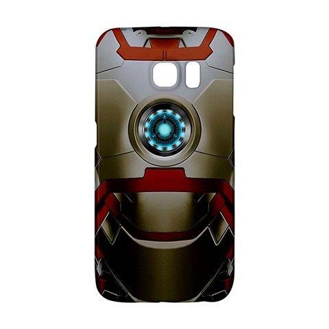 Iron Man Armor Mark XLVII Suit Samsung Galaxy S6 EDGE or S3/S4/S5/S6/S7/S7 EDGE/NOTE 2/NOTE 3/NOTE 4/NOTE 5 Case Wrap Around