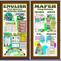High Quality Display Bulletin for Grade 4 (1st - 4th Quarter)