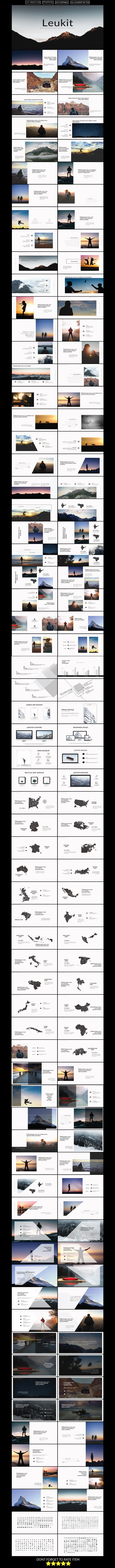 Leukit Mdrn Powerpoint Presentation Template