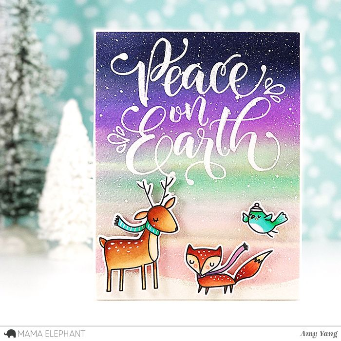 mama elephant   design blog: Peaceful Wishes with Amy