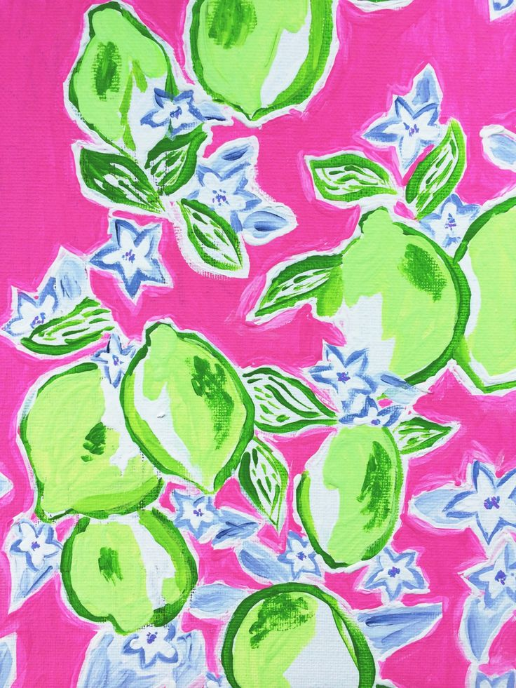 lilly pulitzer painting | Tumblr