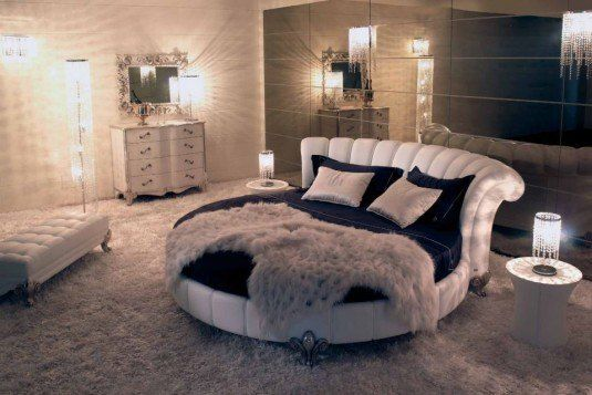 Cool Bedrooms with Round Beds