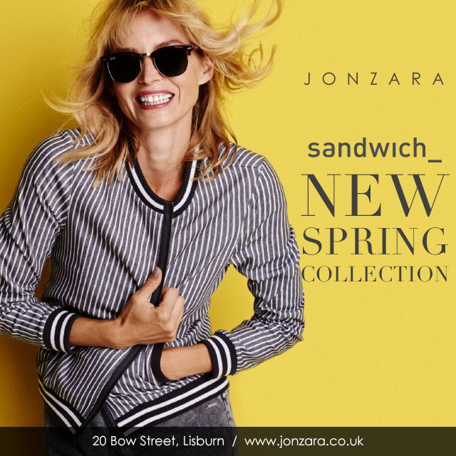 Introducing the latest collection by Sandwich Clothing, available online and exclusively in our Lisburn store but be quick this collection is sure to sell out fast!  #Jonzara