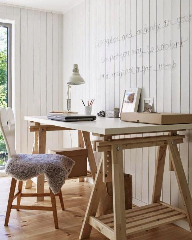 Письменный стол (47 фото): как выбрать хороший стол для работы http://happymodern.ru/pismennyj-stol-44-foto-kak-vybrat-xoroshij-stol-dlya-raboty/ Стол-трансформер с регулируемой высотой