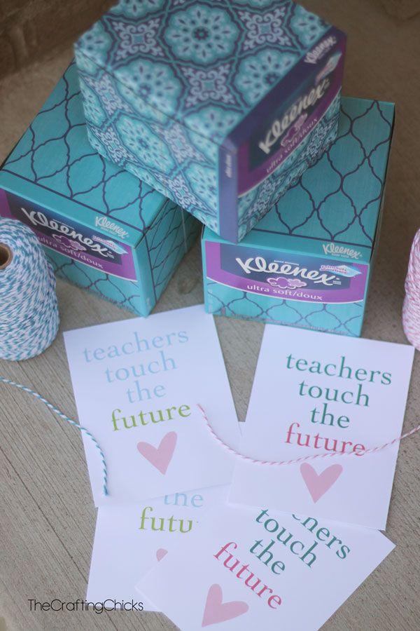 Teacher Gift Idea with free printable