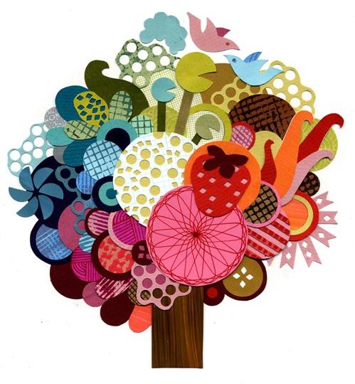 tree: With, Crafts Ideas, Ashley Barron, Inspiration Ideas, Barron Illustrations, Auction Ideas, Avec Ma, Cutest Art, Crafty Trees