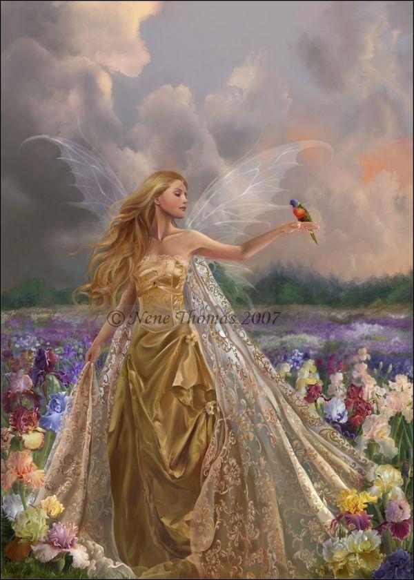 Nene Thomas Art | nene thomas innocence fairy photoshop digital original art painting ...