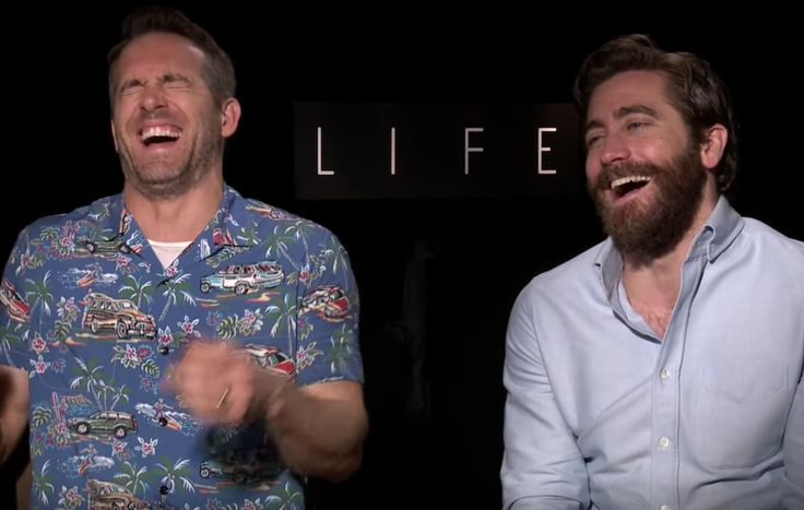 awesome Watch a Ryan Reynolds and Jake Gyllenhaal interview quickly descend into rude jokes