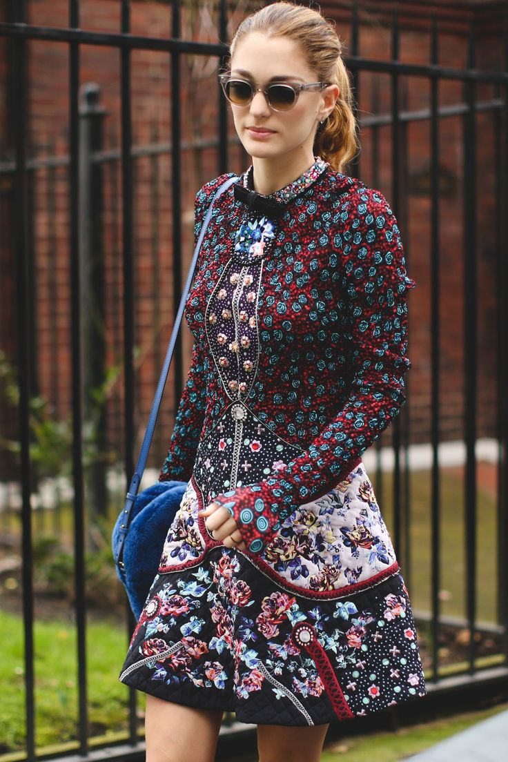 The Best Street Style At LFW AW16 #refinery29  http://www.refinery29.uk/2016/02/103500/street-style-london-fashion-week-aw16-news#slide-8  ...