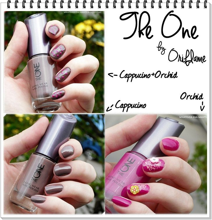 ~ Oriflame The One Long Wear Nail Polish: Cappucino