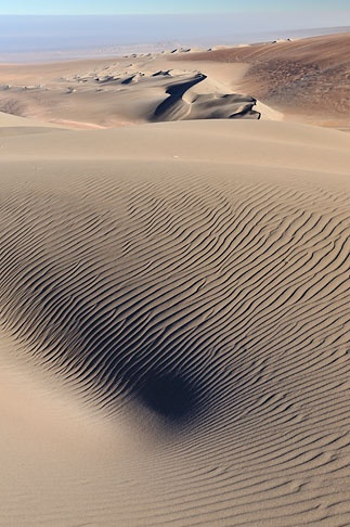 Sand dunes of the Atacama Desert
