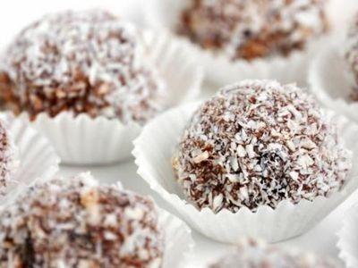 Chocolate Rum Balls recipe