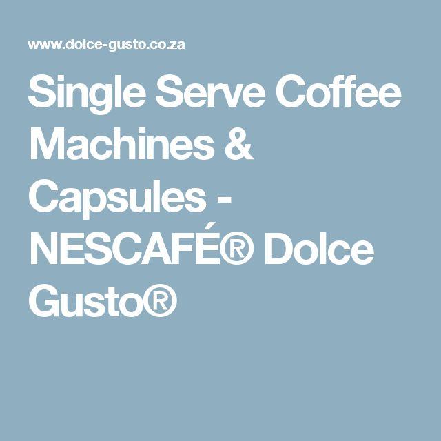 Single Serve Coffee Machines & Capsules - NESCAFÉ® Dolce Gusto®