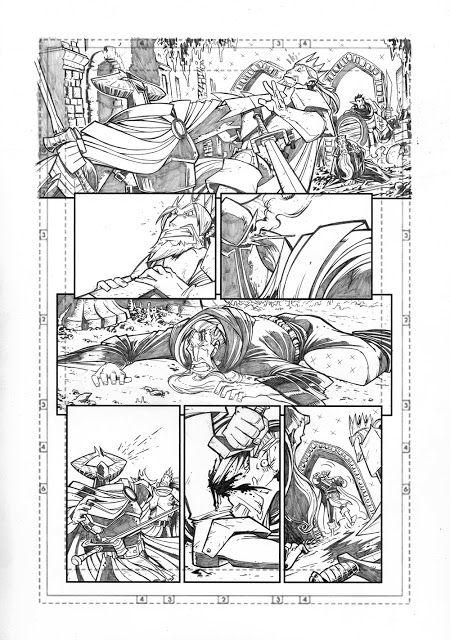 Marco Maccagni's Artworks: Archon #1 pg5