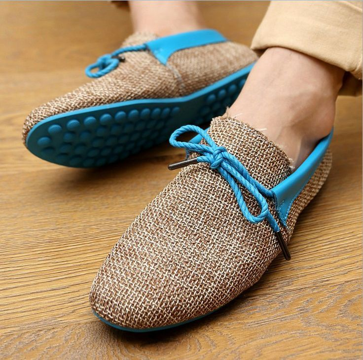 fashion weaving sneakers casual men