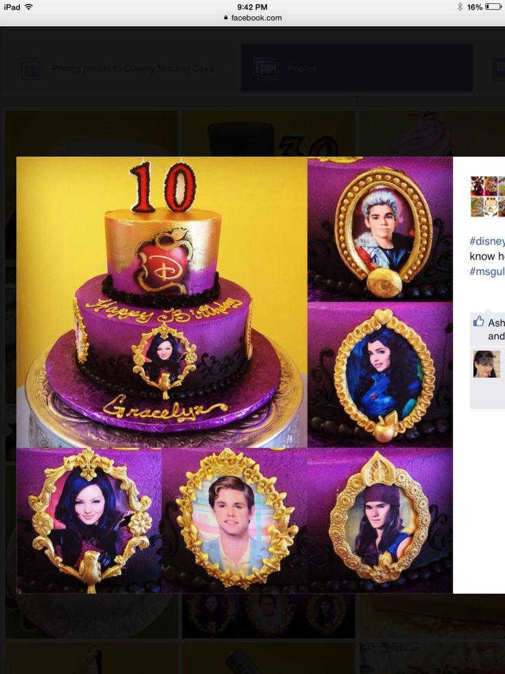 Descendants Cake Designs : 25+ Best Ideas about Descendants Cake on Pinterest ...