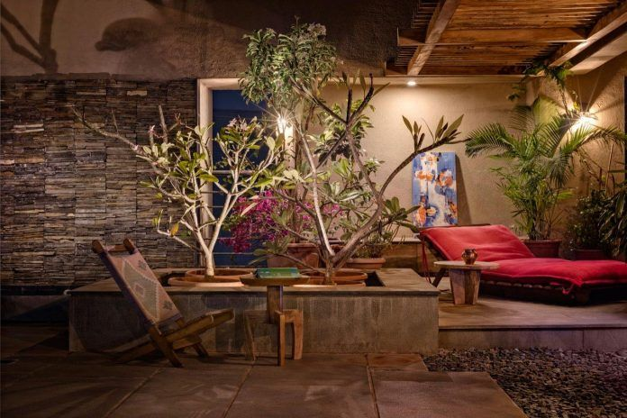 Veranda on a roof by Studio Course conjures up an image of a welcoming social space meant for all - CAANdesign | Architecture and home design blog