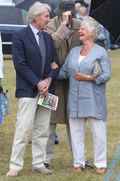 Judi Dench visits The Sandringham Flower Show