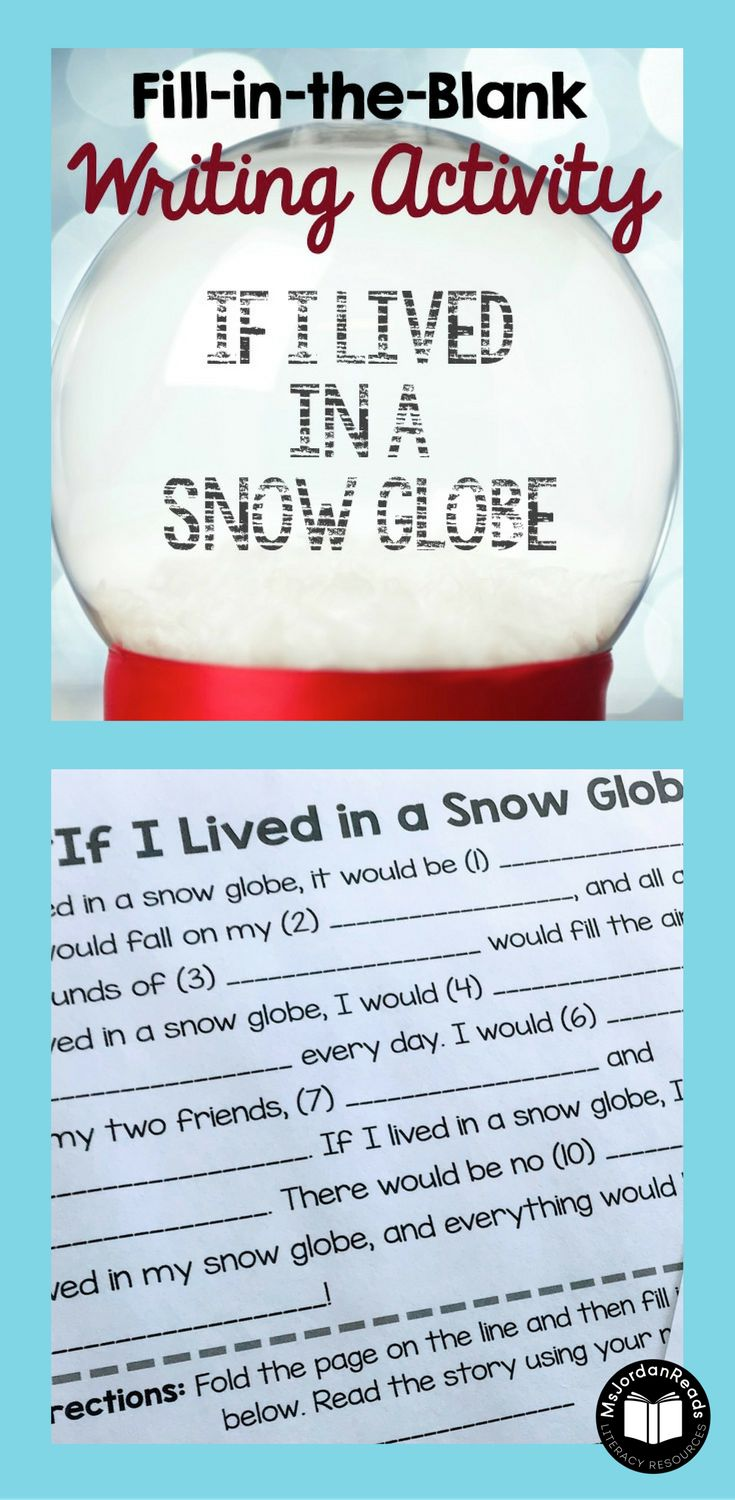 This winter literacy resource is perfect for practicing many reading and  writing skills including story writing.