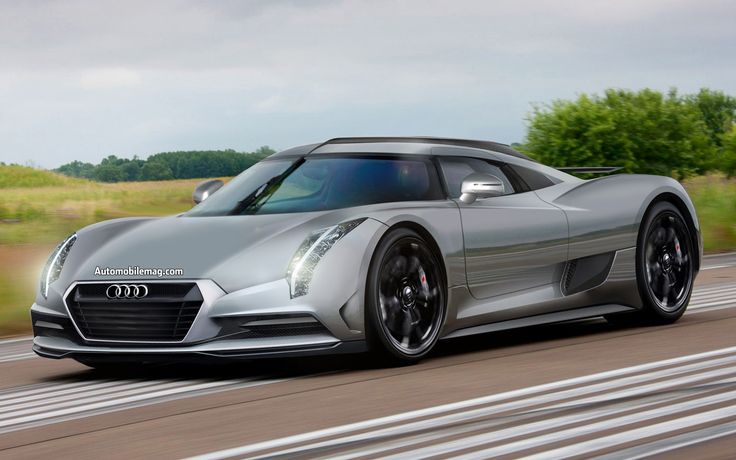 Audi R20 diesel hybrid supercar - Pictures and specs