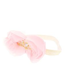 Kids Pink & Gold Princess Tiara Headwrap/ FOR LUCY