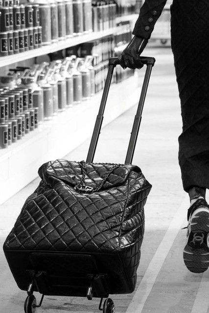 #Dreaming of the Chanel Shopping Trolley for upcoming travels