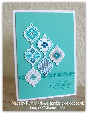 Flower Sparkle: Mosaic Madness Quartet Of Cards