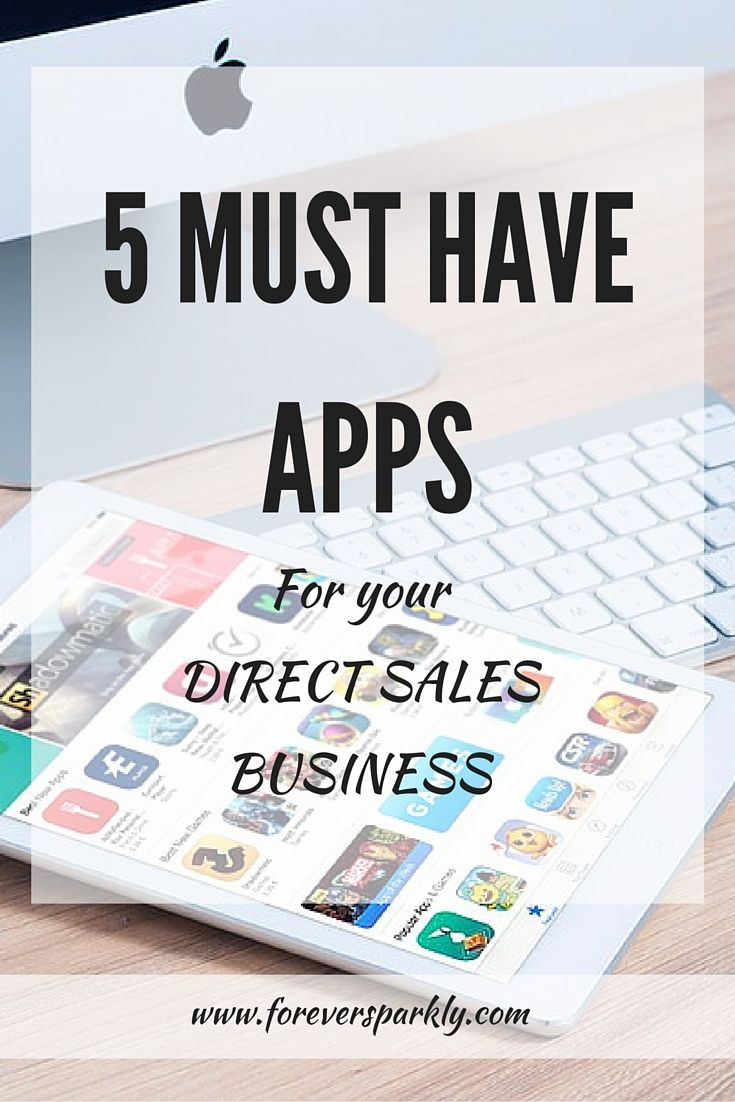 Are you looking to streamline your direct sales business? Click to find the 5 apps every direct seller must have to be successful.