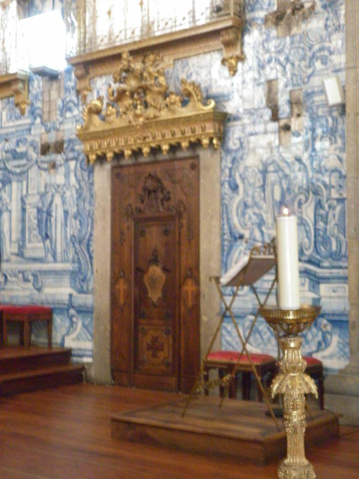 Tiles so Beautiful church Braga