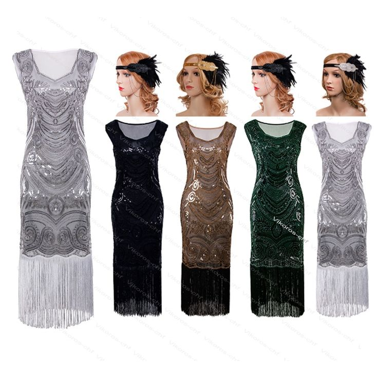 1920s Flapper Gatsby Wedding Party Long Cocktail Formal Evening Prom Club Dress #Unbranded #BallGownFlapperMaxiStretchBodyconTeaDress1920s30sVintageSequinStretchBodycon #CocktailEveningPartyPromWeddingFormal