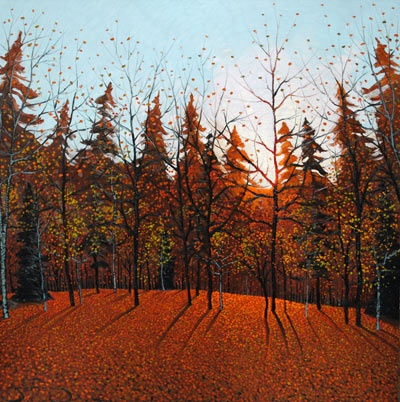 Autumn Glow by Mark Berens at Crescent Hill Gallery
