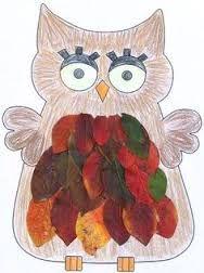 Afbeeldingsresultaat voor knutselen met herfstbladeren pinterest