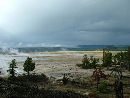 Lower Firehole Gyser Basin: Photo