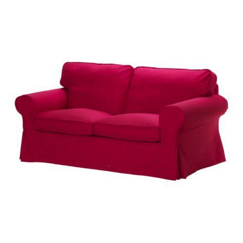 EKTORP Two-seat sofa, Idemo red Idemo red