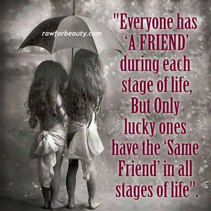 quotes on lifelong friendship | Every one has a friend... | words | Pinterest
