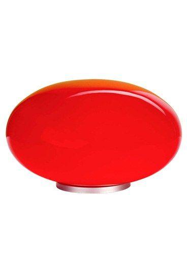 Lampe de chevet en verre teinté Atlas - Noel rouge: idées cadeaux Noel rouges, cadeaux noel 2010 - Une lampe en verre teinté, rouge passion, rien de tel pour créer une ambiance tamisée et enflammer les soirées de Biquet. Lampe Naro, en verre teinté rouge, Atlas – [39,90 € |CA :...