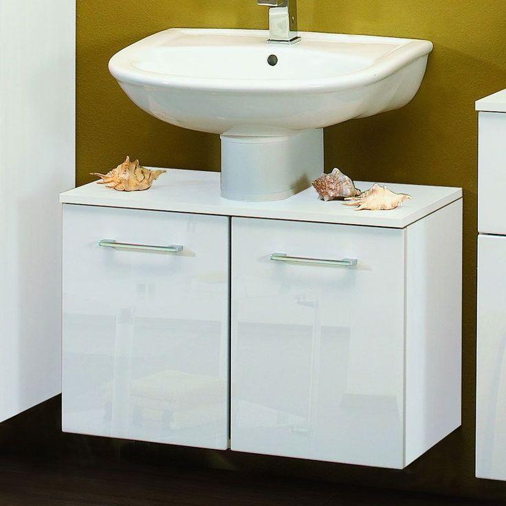 Best 25+ Waschbeckenunterschrank Weiss Ideas On Pinterest   Badezimmer  Unterschrank 50 Cm Breit